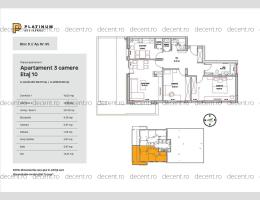 3 camere, Tractorul, Platinum Residence